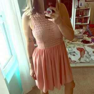 Pink dress from American Apparel